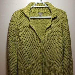 J Jill women's cardigan sweater